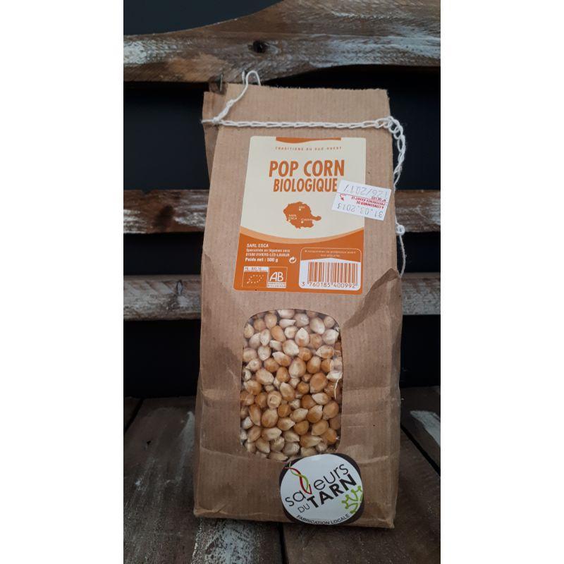 Pop corn bio 500g